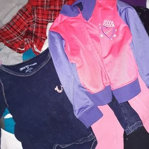 13 piece lot of toddler girl clothes 3t